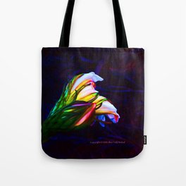 """""""Cactus Flower At Sunset #85"""" Photograph Tote Bag"""