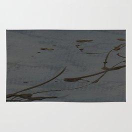 Jackson Pollock Inspired Study In Black - Glam Rug