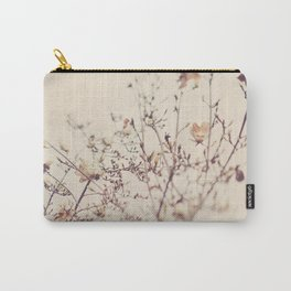 Magnolia tree. Winter Carry-All Pouch