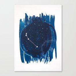 Aries Zodiac Print Canvas Print