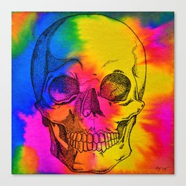 Ode To Skully Canvas Print