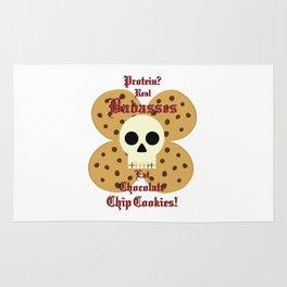Real Badasses Eat Cookies! Rug