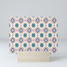 Moroccan Tiles Mini Art Print