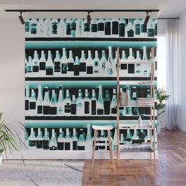 Wine Bottles - version 2 #decor #buyart #society6 Wall Mural