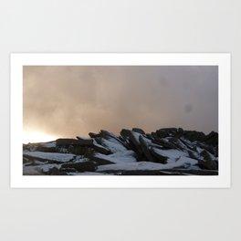 Glyder Fach Summit Art Print