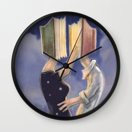 LOVE IS ALL YOU READ Wall Clock