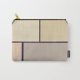 Toned Down- navy stripe Carry-All Pouch