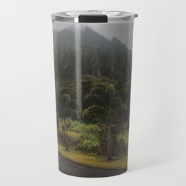 Rustic Mountains Travel Mug