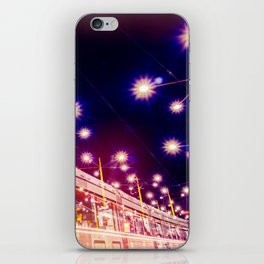 Night view of Station at  Graz , Austria. iPhone Skin