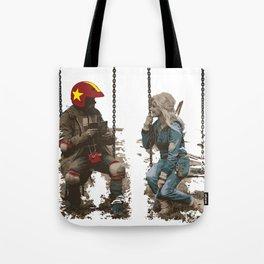 Turbo Kid Tote Bag