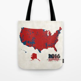 2016 Election Results Tote Bag