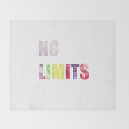 No Limits Throw Blanket