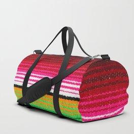 BEAUTIFUL MEXICAN SERAPE Duffle Bag