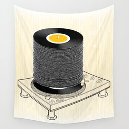 Fat Stack Wall Tapestry