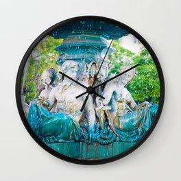 Fountin of Love Wall Clock