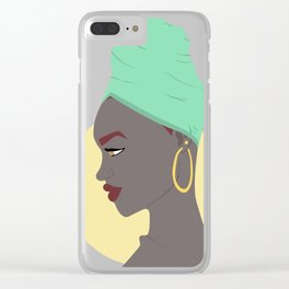 The Sun Will Shine Again Clear iPhone Case
