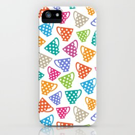 Funny cups iPhone Case