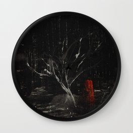 i am scarier than whatever is out here with me Wall Clock