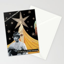 """""""The End is The Beginning""""  Stationery Cards"""