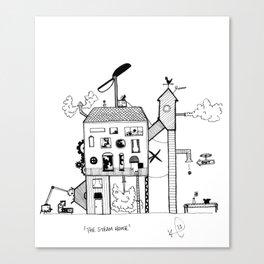 The Steam House Canvas Print