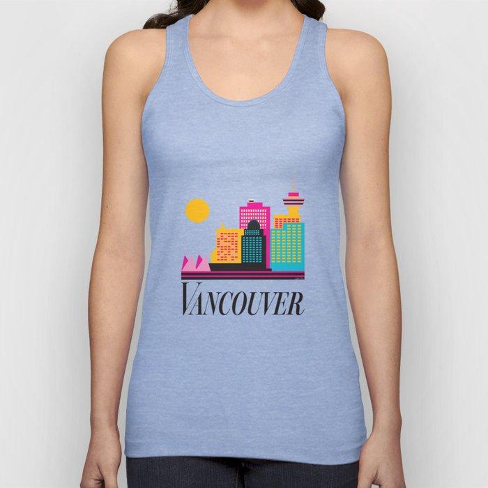 Vancouver Coal Harbour Unisex Tank Top