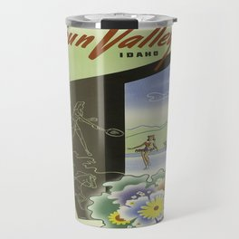 Vintage poster - Sun Valley, Idaho Travel Mug