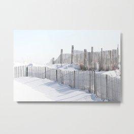 Rhode Island Snow 2015 Metal Print