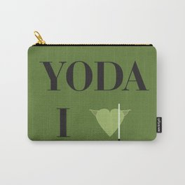 I heart Yoda Carry-All Pouch