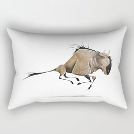 Wildebeest Rectangular Pillow