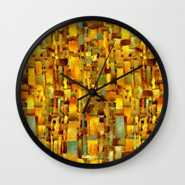 Gold and bronze Wall Clock