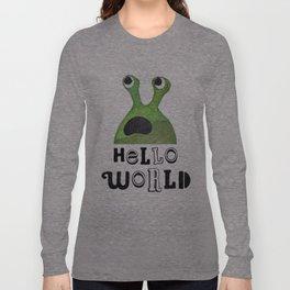 Hello World Long Sleeve T-shirt