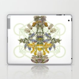 Montana Flowers & Sacred Geometry Laptop & iPad Skin