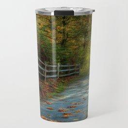 Fenced Autumn Travel Mug