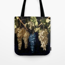 Grape Vines : Vintage Painting Tote Bag