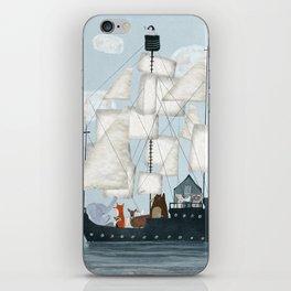 a nautical adventure iPhone Skin