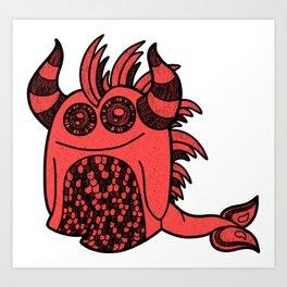Infernal Bug Art Print