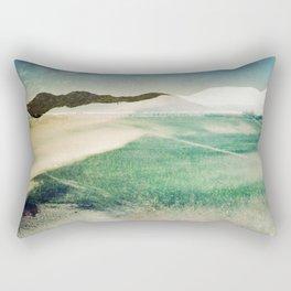 MM 410 . White Lines x Mountain Lines Rectangular Pillow