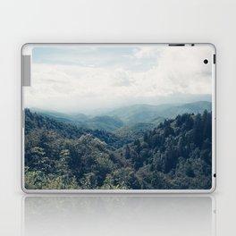 misty mountain morning Laptop & iPad Skin