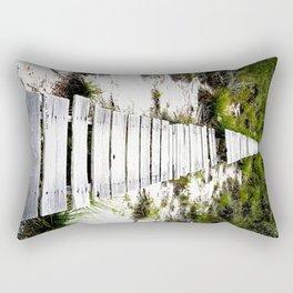 Nature Road Rectangular Pillow