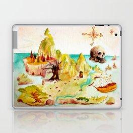 Peter Pan Map Laptop & iPad Skin