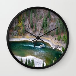 Kootenai River Wall Clock
