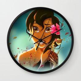 MAYBE MOANA Wall Clock
