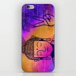 Buddha World Peace iPhone Skin