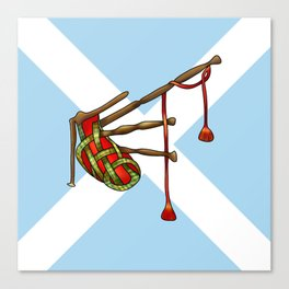 bagpipe-knot Canvas Print