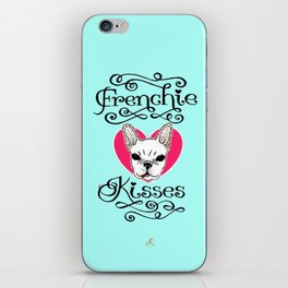 Frenchie Kisses iPhone Skin