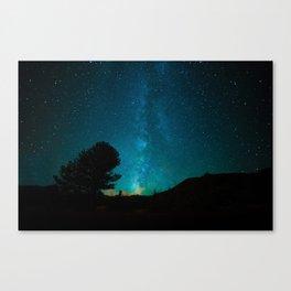 Milky Way // Colorado Canvas Print