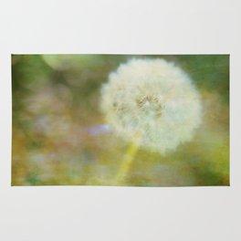 Dandelion Wishes Yellow Rug