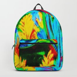 Retro Dolphin Backpack