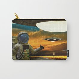 Hitchinghiking Across The Universe Carry-All Pouch