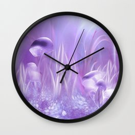 The Cradle of Light Wall Clock